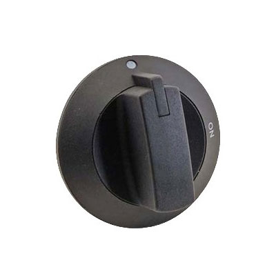 Franklin Machine 173-1139 Valve Knob for Wells HDCB Series Charbroilers - Plastic, Black