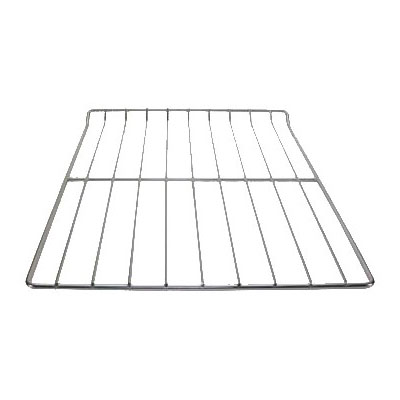 """Franklin Machine 180-1033 Wire Shelf for Alto-Shaam Ovens & Heated Cabinets - 24.75"""" x 18"""", Nickel-Plated"""