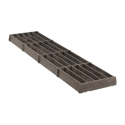 "Franklin Machine 184-1056 Bottom Broiler Grate for Bakers Pride SGBR, GG, & 50 Series Charbroilers, 4.38"" x 17"""
