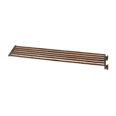 """Franklin Machine 184-1081 Top Broiler Grate for Bakers Pride CH & XX Series Charbroilers - 24"""" x 4.5"""", Steel"""