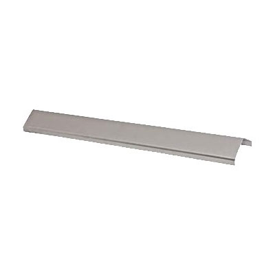"""Franklin Machine 184-1087 Broiler Radiant for Bakers Pride CTB, FLB, & LCB Charbroilers - 20.5"""" x 3.5"""", Stainless"""