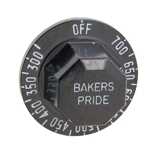 Franklin Machine 184-1091 Thermostat Dial w/ 300° to 700° Range for Bakers Pride Pizza Ovens