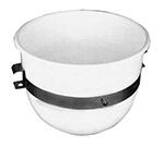 Franklin Machine 205-1024 20-qt Mixing Bowl w/ Band, Plastic