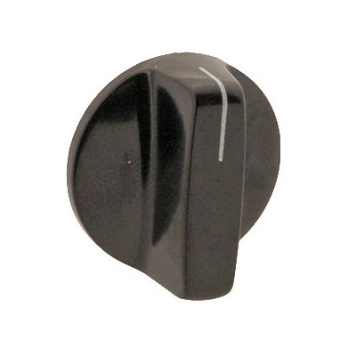 "Franklin Machine 212-1020 1.13"" Rotary Switch Knob for Vitamix Blenders - Plastic, Black"
