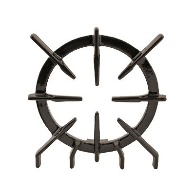 "Franklin Machine 220-1126 9.5"" Spider Grate for Wolf CH, CHSS, KCH, & KCHSS Series Ovens & Ranges, Porcelain Finish"