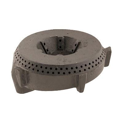 "Franklin Machine 220-1322 4"" Burner Head for Wolf CH, CHSS, KCH, & KCHSS Ovens, Cast Iron"