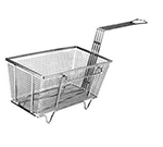 Franklin Machine 225-1009 Half Size Fryer Basket, Nickel Plated