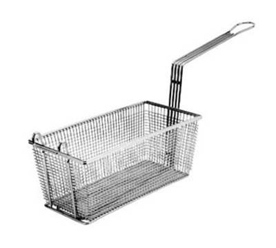 Franklin Machine 225-1010 Half Size Fryer Basket, Nickel Plated