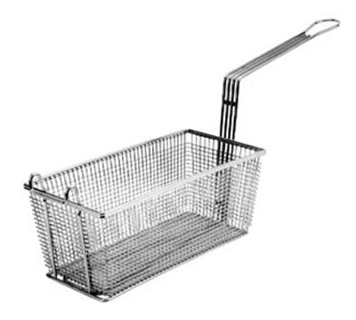 Franklin Machine 225-1011 Half Size Fryer Basket, Nickel Plated