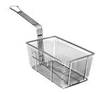 Franklin Machine 225-1015 Half Size Fryer Basket, Nickel Plated