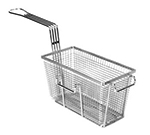Franklin Machine 225-1019 Half Size Fryer Basket, Nickel Plated