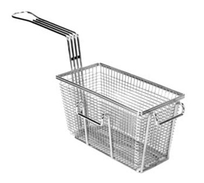 Franklin Machine 225-1019 Half Size Fryer Basket, Nickle Plated