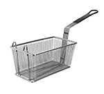 Franklin Machine 225-1026 Half Size Fryer Basket, Nickle Plated