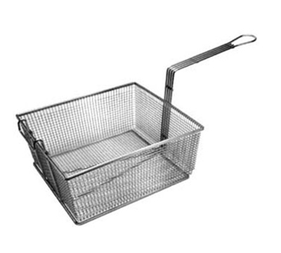 Franklin Machine 225-1033 Full Size Fryer Basket, Nickel Plated