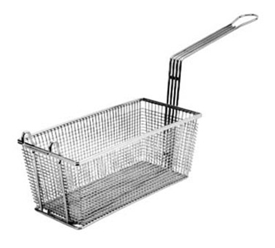 Franklin Machine 225-1034 Half Size Fryer Basket, Nickel Plated