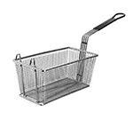 Franklin Machine 225-1052 Half Size Fryer Basket, Nickel Plated