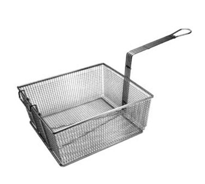 Franklin Machine 225-1053 Full Size Fryer Basket, Nickel Plated