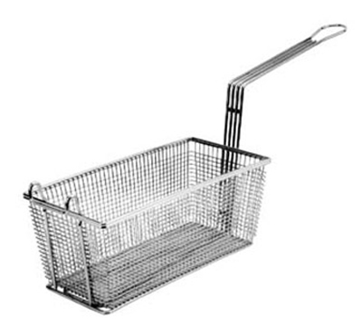 Franklin Machine 225-1060 Half Size Fryer Basket, Nickel Plated