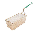 Franklin Machine 225-1071 Half Size Fryer Basket, Nickel Plated