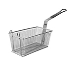 Franklin Machine 2251072 Half Size Fryer Basket, Nickel Plated