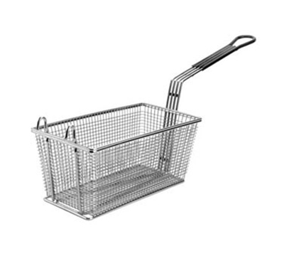 Franklin MacHine 2251072 Half Size Fryer Basket, Nickle Plated