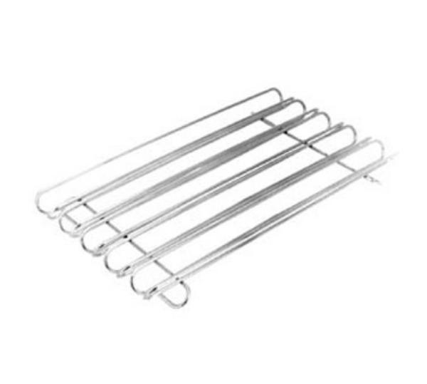 Franklin MacHine 2261089 Taco Rack, 5 Rails, Holds 15 Tacos