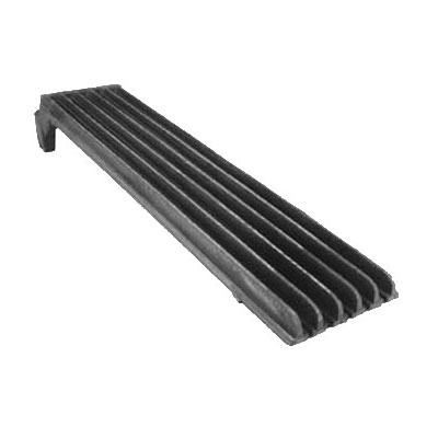 """Franklin Machine 228-1172 Top Broiler Grate for Vulcan & Wolf Charbroilers & Cheesemelters - 5.25"""" x 23.25"""", Cast Iron"""