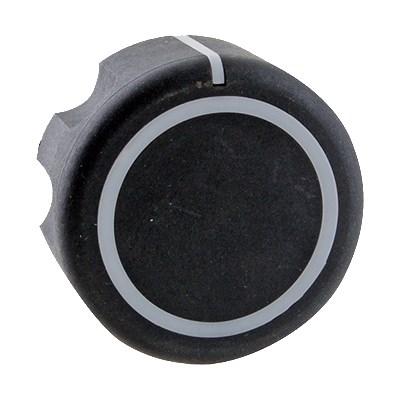 Franklin Machine 228-1212 Gas Valve Knob for Vulcan Ovens, Ranges, & Griddles - Plastic, Black