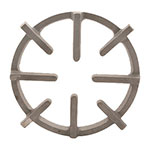 "Franklin Machine 229-1023 Spider Grate for Garland 4-Burner & 44-40 Series - 9.5"" x 11"", Rough Cast Finish"