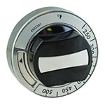 Franklin Machine 229-1164 Thermostat Dial w/ 225° to 500° Temperature Range for Garland Ovens & Ranges