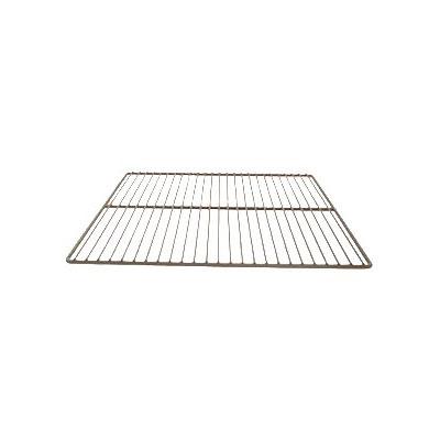 """Franklin Machine 232-1094 Epoxy-Coated Wire Shelf for Traulsen Refrigerators & Freezers - 26.38"""" x 24.5"""", Gray"""
