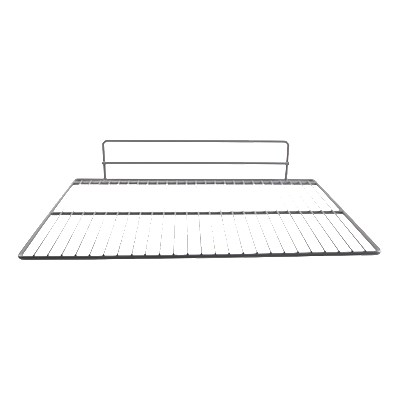 "Franklin Machine 234-1062 Epoxy-Coated Wire Shelf for Victory Refrigerators & Refrigerators - 23.38"" x 18"", Gray"