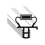 "Franklin Machine 235-1152 Drawer Gasket for Delfield D4427N-9M, 13.13"" x 27.87"""