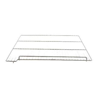 "Franklin Machine 235-1157 Left-Side Epoxy-Coated Wire Shelf for Delfield 6100 Model Freezers - 26.18"" x 22.93"", Gray"