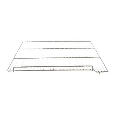 "Franklin Machine 235-1158 Right-Side Epoxy-Coated Wire Shelf for Delfield 6100 Model Freezers - 26.18"" x 22.93"", Gray"