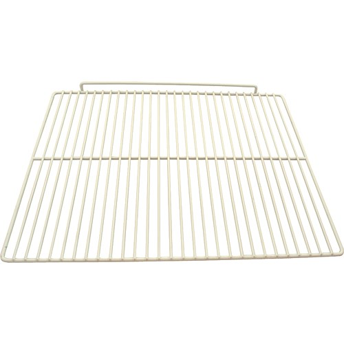 """Franklin Machine 237-1218 Epoxy-Coated Wire Shelf for Beverage Air SP27 Models - 17.5"""" x 22"""", White"""