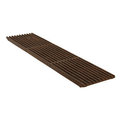 """Franklin Machine 240-1000 Top Broiler Grate for Garland C-HDS-A & RG-HDS-A Series Charbroilers - 6"""" x 24.25"""", Cast Iron"""