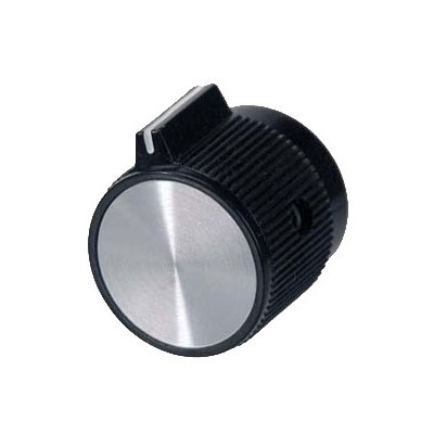 Franklin Machine 244-1032 Control Knob for Star Toasters & Cheesemelters - Plastic, Black