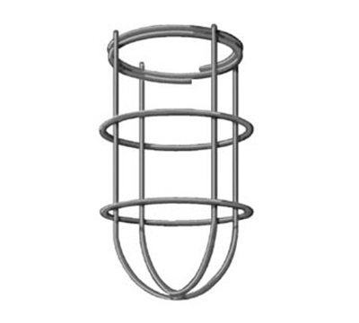 "Franklin Machine 2531232 7.25"" Replacement Wire Guard for Lighting Fixture, Zinc Plated Steel"