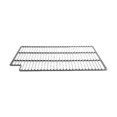 "Franklin Machine 269-1025 Right-Side Epoxy-Coated Wire Shelf for Perlick Refrigerators & Freezers - 21"" x 15.75"", Gray"