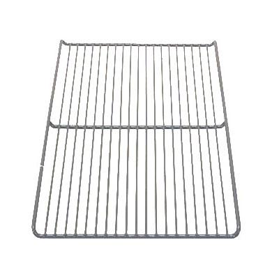 """Franklin Machine 269-1051 Epoxy-Coated Wire Shelf for Perlick Refrigerators & Freezers - 19.25"""" x 11.75"""", Gray"""
