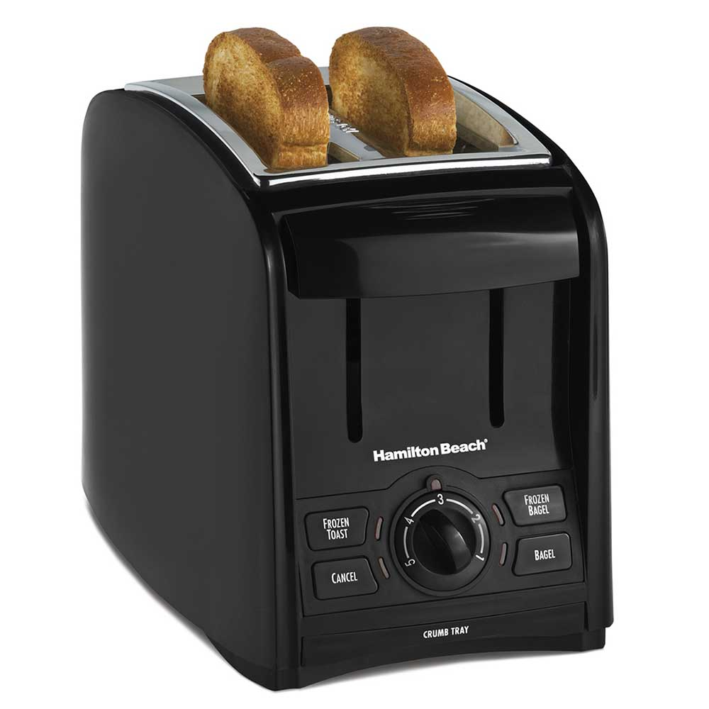Hamilton Beach 22121 2-Slice Toaster w/ 1.5 Slots - Multi...