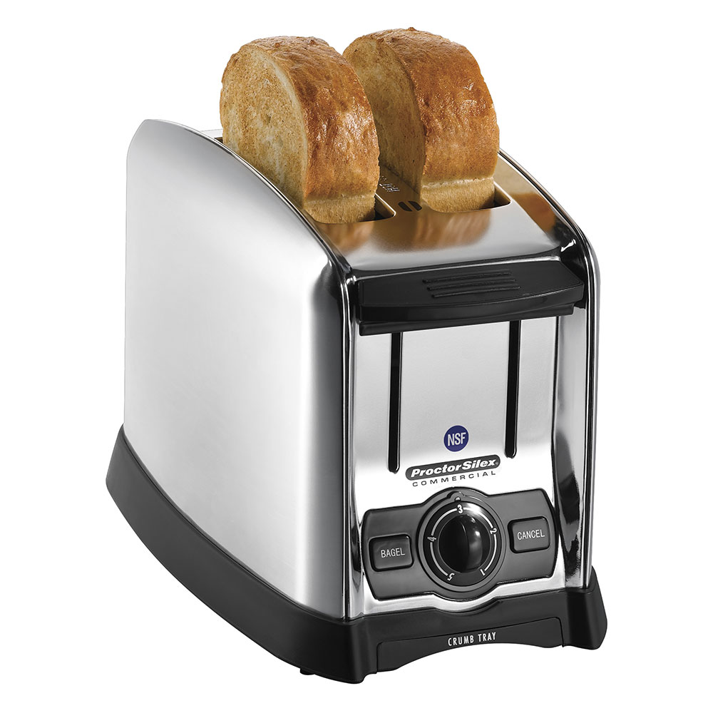 Hamilton Beach 22850 2-Slot Pop-Up Toaster w/ Smart Bagel Function, 120 V