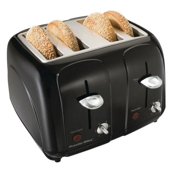 Hamilton Beach 24201 4-Slice Toaster w/ Shade Selector Di...