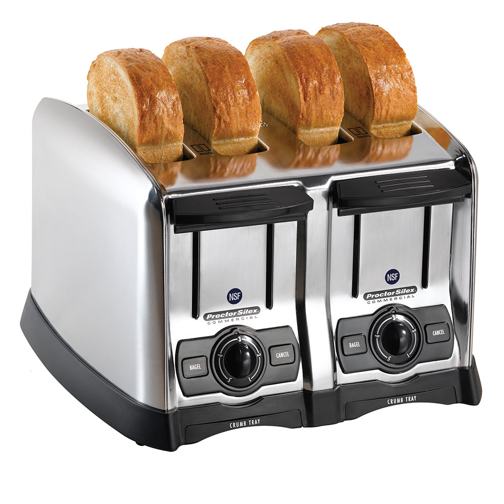 Hamilton Beach 24850 4-Slot Pop-Up Toaster w/ Smart Bagel Function, 120 V