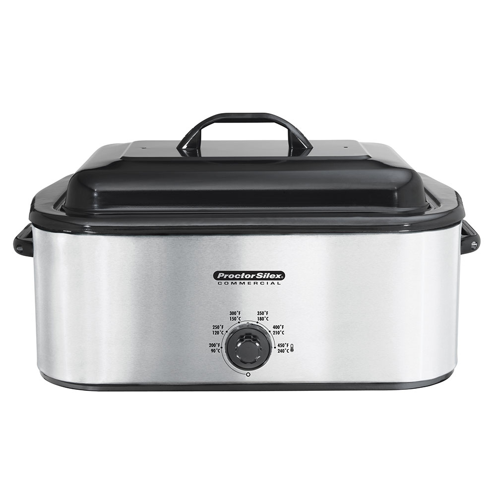 Hamilton Beach 32918 18-qt Roaster Oven Warmer w/ Rack & Pan, Stainless, 120 V