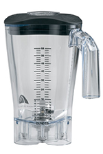 Hamilton Beach 6126-650-OP 64-oz Blender Container w/ 1-Piece Cutter Assembly, Polycarbonate