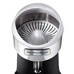 Hamilton Beach 96700 Electric Citrus Juicer w/ 3-Reamer Sizes, Stainless Bowl, 120 V