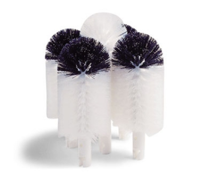 "Hamilton Beach 97040 Replacement Brushes, (4) 6"" Black & White, (1) 8.5"" White"