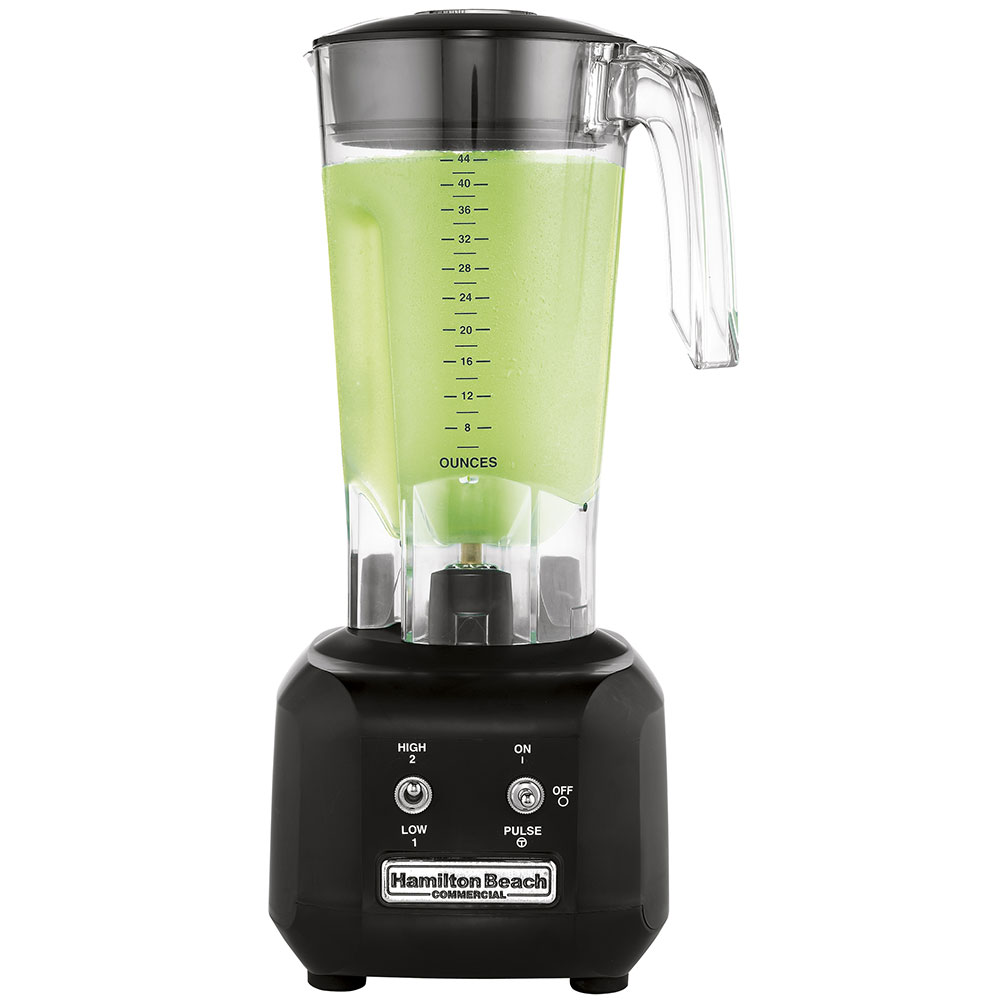 Hamilton Beach HBB250R Bar Blender, 44-oz Polycarbonate Container, 2-Speed & Pulse